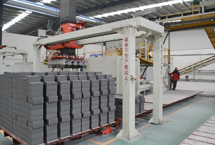 Henan Province Zhumadian 120 million fly ash brick production line