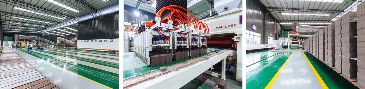 fly ash autoclaved brick production line